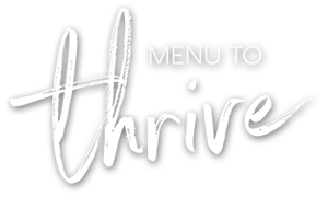 Menu to Thrive Logo